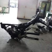 Paldam I/BB -9. 1 (satu) unit Sepeda Motor merk/type Jialing, Tahun Pembuatan 2005, kondisi rusak berat dengan nomor Reg 7200-I