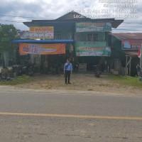BRI Sanggau: Sebidang tanah SHM No 963 (300m2) berikut bangunan ruko di Desa Tanjung Merpati Kec Kembayan Kab Sanggau