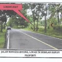 Sebidang tanah seluas 29.200 m2 SHM No.199/Desa Kassar di Kabupaten Minahasa Utara