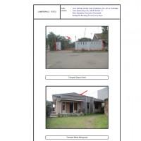 PN Bale Bandung, 1 bidang tanah berikut bangunan di atasnya SHM 3111 Luas 533m2 di Kabupaten Bandung