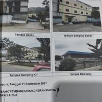L. Eksekusi (PT BPD Bank Papua KC Arso) : tanah berikut bangunan di atasnya, LT 417 m2 (SHM 01005) di Sentani Timu, Jayapura