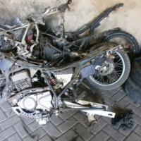 12 kendaraan bermotor kondisi rusak berat/besi tua di Kabupaten Pasuruan