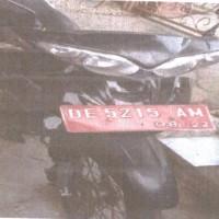 (Poltekes Maluku) 1 Unit Motor merk/type Yamaha/Yupiter-Z Nopol DE 5215 AM Tahun Pembuatan 2007 Kondisi Rusak Berat di Ambon