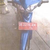 (Poltekes Maluku) 1 Unit Motor merk/type Yamaha/Yupiter-Z Nopol DE 5216 AM Tahun Pembuatan 2007 Kondisi Rusak Berat di Ambon