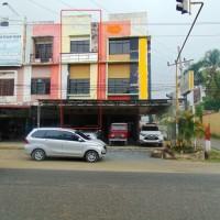 BSI - Tanah dan Bangunan Ruko dengan SHM No 2912, luas tanah 101 m2, Jl. Sisingamangaraja, Kel. Bakaran Batu Kec. Rantau Selatan