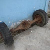 KPPN Tanjungbalai: Isuzu Diesel BK 1031 V Tahun 1984 (kondisi scrap)