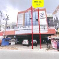 Bank Mandiri-Tanah dan Bangunan, SHM 823 terletak di Jl. Iskandar Muda Kota Medan