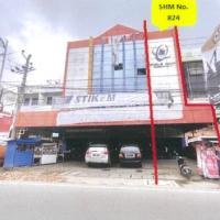 Bank Mandiri-Tanah dan Bangunan, SHM 824 terletak di Jl. Iskandar Muda Kota Medan