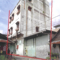 Bank Mandiri- 2 bidang Tanah berikut  bangunan dijual dalam 1 (satu) paket, terletak di Jl. Pertempuran Gg Sekata Pulo Brayan Kota, Medan