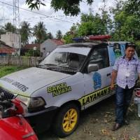 (Pemda Bone LOT 30) 1(satu) unit Mobil Toyota  KF 70, DD 244 W, Hitam, 2003, STNK tidak ada, BKPB ada, Rusak Berat di Kab. Bone