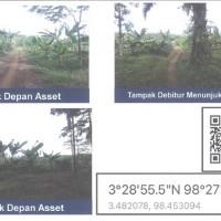 Mandiri, 1 paket Tanah total luas 22.220 M2 SHM 393, SHM 394 di Kel Namu Ukur Selatan, Kec Sei Bingai, Kab Langkat
