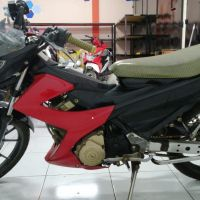 Kejari Garut (Rampasan) Lot 9 : 1 (satu) unit Motor Suzuki Satria FU tanpa Nomor Polisi