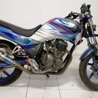 Kejari Garut (Rampasan) Lot 5: 1 (satu) unit motor Yamaha Scorpio biru silver Nopol Z 4306 DV