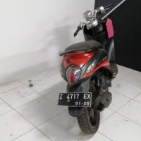 Kejari Garut (Rampasan) Lot 4 : 1 (satu) unit motor Yamaha Fino merah hitam tanpa nopol disertai kunci kontak