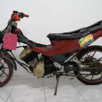 Kejari Garut (Rampasan) Lot 1: 1 (satu) unit Motor Suzuki Satria FU Hitam Marun tanpa plat nomor