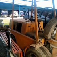 DEPO 40 KOHARMAT TNI AU : Scrap kendaraan Forklift di Kabupaten Bandung
