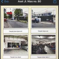 02 Tanah luas 586 m2 bangunan Showroom, SHM No. 420, di Jl Nias No. 80, Kel. Gubeng, Kec Gubeng, Kota Surabaya