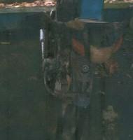 (BKKBN) 1 unit Motor Yamaha T105ER No.Pol DE 4150 AM tahun pembuatan 2003 kondisi Rusak Berat
