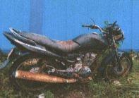 (SPSDKP Ambon) 1 Unit Sepeda Motor Honda Nopol B 6236 PKQ Tahun pembuatan 2008 Kondisi Rusak Berat