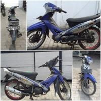 Kejari Kab. Probolinggo 1a) Sepeda motor merk Yamaha Vega R nopol W-2063-ZA warna biru tanpa STNK dan BPKB