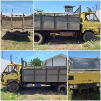 Kejari Kab.Probolinggo Lot 3) Mobil Truck merk Mitsubishi tidak ada nopolnya warna kuning baknya warna abu-abu, Tanpa STNK dan BPKB
