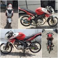 Kejari Kab.Probolinggo Lot 16) Sepeda motor merk Yamaha Vixion warna merah putih tanpa nopol tanpa STNK maupun BPKB