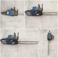 Kejari Kab.Probolinggo Lot 26b) Gergaji mesin chain saw merk Maestro warna biru