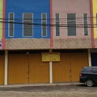 BRI PIK : tanah+ bangunan ruko dijual satu paket SHGB No.32, luas 57 m2, dan SHGB No.33/Koang Jaya, luas 53 m2.