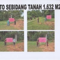 KEJARI SEKADAU 1 : 1 bidang tanah luas +- 1.632 m2 di RT. 01 Riok Desa Tanjung Kec. Sekadau Hilir Kab. Sekadau