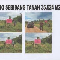 KEJARI SEKADAU 2 : 1 (satu) bidang Tanah dengan luas +- 35.624 m2 di RT 01 Riok Desa Tanjung Kec. Sekadau Hilir Kab. Sekadau