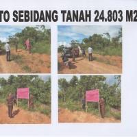 KEJARI SEKADAU 6 : 1 (satu) bidang Tanah dengan luas +- 24.803 m2 di RT 01 Riok Desa Tanjung Kec. Sekadau Hilir Kab. Sekadau