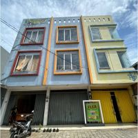 BNI Wil.12 : tanah berikut 3 (tiga) unit  Bangunan ruko, luas 330 m2 sesuai SHM No. 3338, Jl.Raden Fatah E/2.