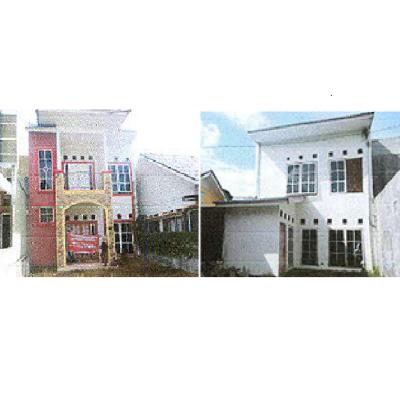 Bank Mandiri, 2 (dua) T/B sesuai SHM No. 3145 luas 104 m2 dan SHM 3154 luas 136 m2 di Kel. Batang Kabung Ganting, Kec. Koto Tangah, Padang