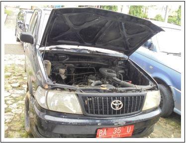 Pemkab Mentawai Lot 6, 1 (satu) unit  Kendaraan Roda 4 Toyota Kijang/KF80STDR Thn 2004, Nopol BA 35 U, Warna Hitam, BPKB dan STNK ada