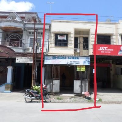 1b.BNIRRRMksr. tanah  & Banguna Ruko, SHM No. 20738 luas 64 M2,  Kel. Bonto Makkio, Kec. Rappocini, Kota Makassar