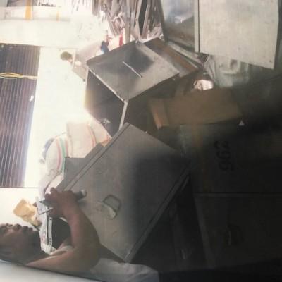 1 (paket) eks logistik pemilu tahun 2014Kotak Suara Alumunium 5.473 kg dalam kondisi rusak berat KPU POSO