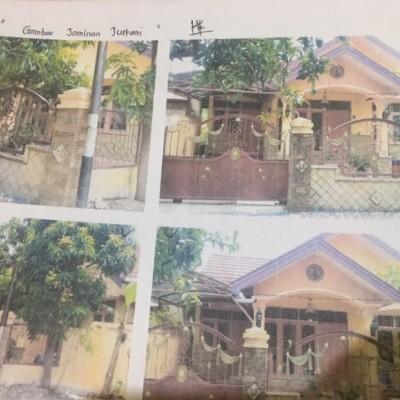 3. Tanah luas 149 M 2 , berikut bangunan diatasnya.  di Jl. Pramuka Gang Ramadhani .Kec. Banjarmasin Timur, Kota Banjarmasin, Kalsel