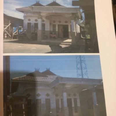 2. Tanah luas 279 M 2 , berikut bangunan diatasnya. di Jl. Swadaya, Desa Kurau, Kec. Kurau, Kab. Tanah Laut, Kalsel