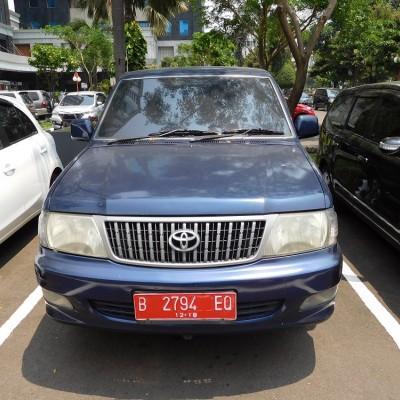 Itjen Kemenkeu-Toyota Kijang KF82 LSX Tahun 2003 Nomor Polisi B 2794 EQ
