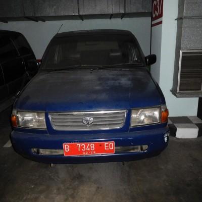 Itjen Kemenkeu-Toyota Kijang KF 80 Tahun 1998 Nomor Polisi B 7348 EQ