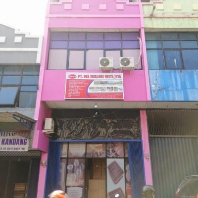 BRI: Sebidang tanah berikut bangunan, di Jl. RE Martadinata Ruko Pasar Cimanggis Ciputat No.27 B, Kel. Ciputat, Kota Tangerang Selatan