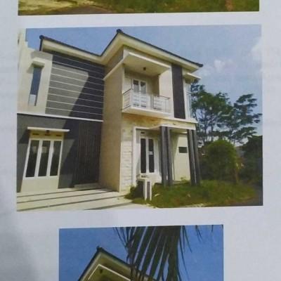 Bank CIMB Niaga - Tanah & bangunan SHM No. 1180 luas 161 M2 terletak di Desa Kepuharjo, Kec. Karangploso, Kab. Malang