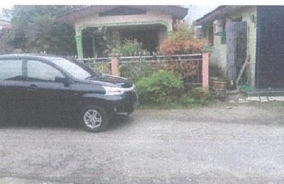 [bank mandiri] 2c. Tanah luas 105 m² + bangunan di Kel Sirandorung Kec Rantau Utara Kab Labuhan Batu SumUt