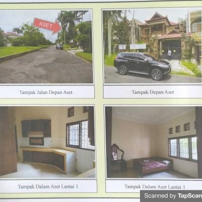 Kurator - Tanah & bangunan SHM No. 880 luas 490 M2 terletak di Desa Kalisongo, Kecamatan Dau Kabupaten Malang