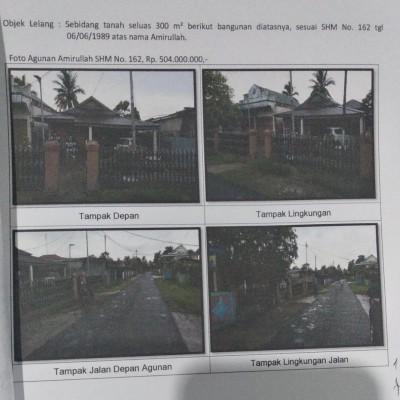 Mandiri Kanwil Papua: tanah luas 300 m2 berikut bangunan rumah di atasnya SHM 162, Maro, Merauke, Merauke