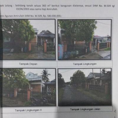Mandiri Kanwil Papua: tanah luas 360 m2 berikut bangunan toko di atasnya SHM M.509, Maro, Merauke, Merauke