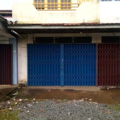 BRI BARITO 1a: Tnh + Bgn Ruko  SHM No. 7509 luas 185 m2 di Jl. Lama Kakap, Kec. Sungai Kakap, Kab. Kubu Raya Kalimantan Barat