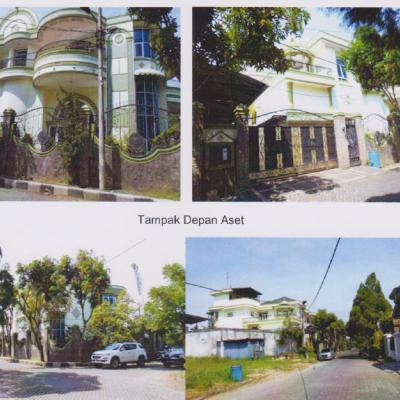 1 bidang tanah luas 1.345 m2 berikut bangunan di atasnya terletak di Desa/Kel. Helvetia, Kec. Labuhan Deli, Kabupaten Deli Serdang