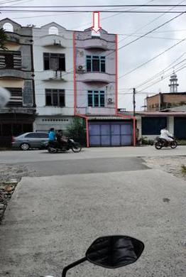 Bank Panin-tanah seluas 88 m²  SHM No. 1245 berikut bangunan terletak di Jalan Jemadi, Kelurahan Pulo Brayan Darat I Kota Medan