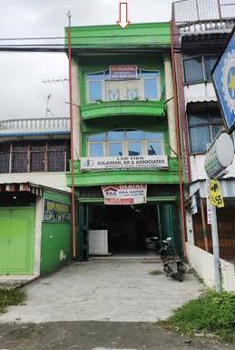 Bank Panin-Sebidang tanah seluas 119 m²  SHM No. 1626 berikut bangunan terletak di Jalan Gunung Krakatau, Kota Medan